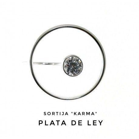 17740-Sortija-Karma-chaton Anillo Karma chatón