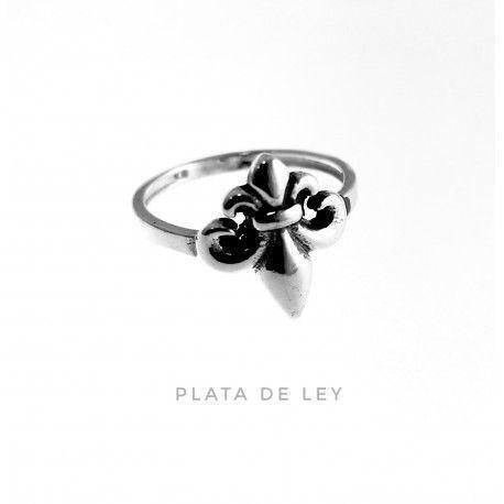 29775 Sortija flor de lis