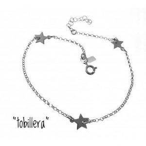 33073-300x300 Tobillera rodiada estrellas