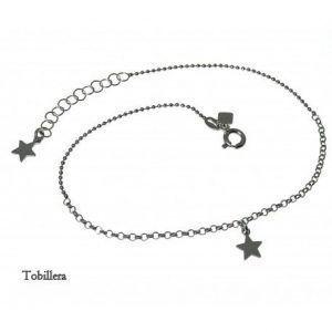 33078-300x300 Tobillera rodiada estrellas colgando