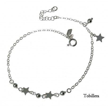 33111 Tobillera bolas y estrellas