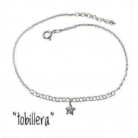 33228 Tobillera estrella circonita