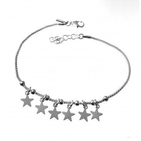 33257 Pulsera cadena coreana estrellas