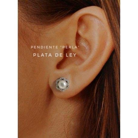 31021.2 Pendiente perla cultivada