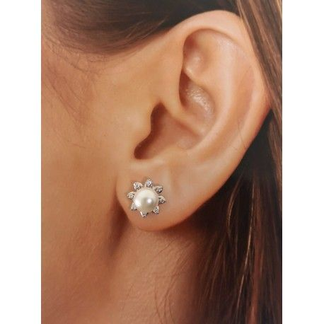 31326.2 Pendiente perla circonitas