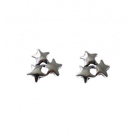 31394-1 Pendiente estrellas