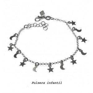 33099-300x300 Pulsera infantil estrellas y lunas colgando