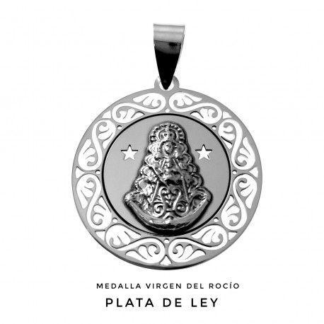 33195 Medalla Virgen del Rocio