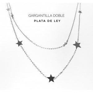 33405-300x300 Gargantilla doble estrellas con punto de luz