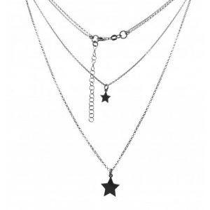33426-300x300 Gargantilla doble rodiada estrellas