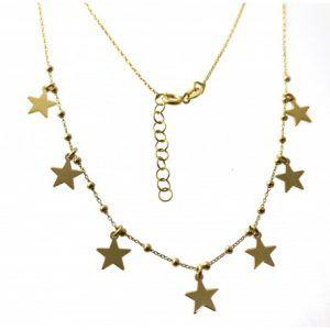 33468-300x300 Gargantilla chapada estrellas