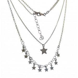 33511-300x300 Gargantilla rodiada doble estrellas
