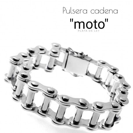 31565 Pulsera cadena moto