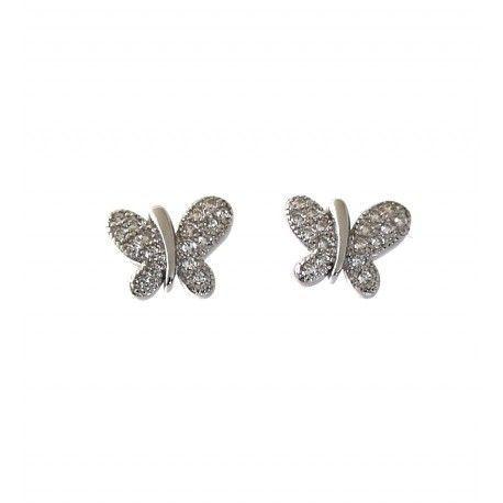 31576 Pendiente microengaste mariposa