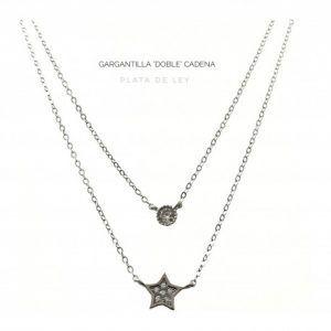 31660-300x300 Gargantilla doble estrella y circonita