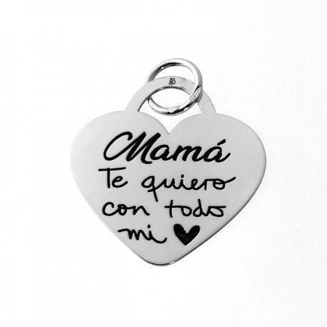 33588 Colgante corazón Mamá