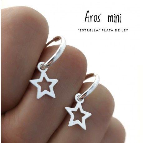 33623.4 Aro mini estrella calada