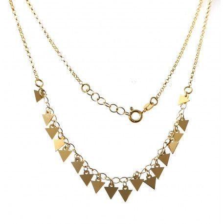 33809 Gargantilla chapada triángulos