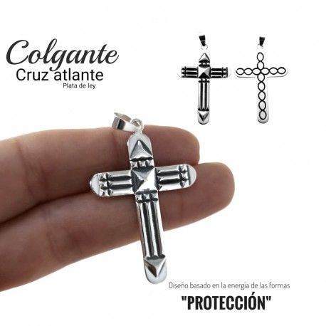33823 Colgante cruz atlante