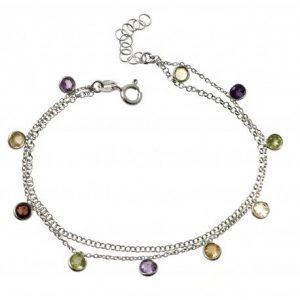 33824-300x300 Pulsera doble cadena piedras boceladas en color