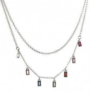 33841-300x300 Gargantilla doble cadena rodiada barretas de colores