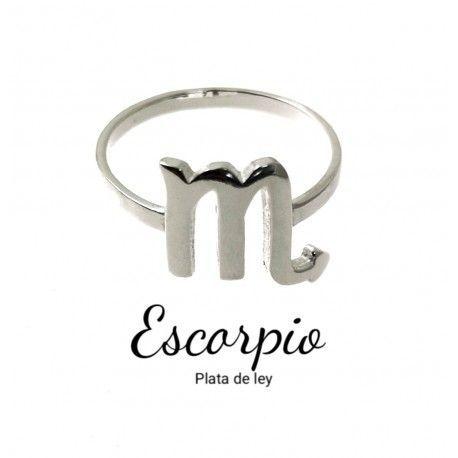 33877 Anillo horóscopo Escorpio
