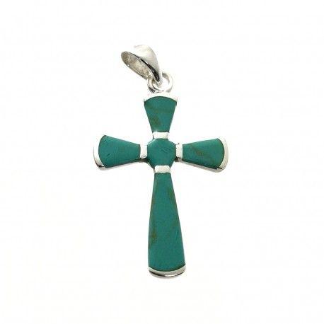 31697.2 Colgante cruz nacar