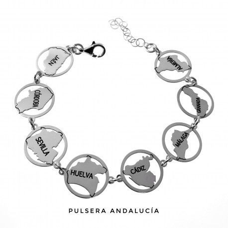 33431 Pulsera provincias de Andalucía