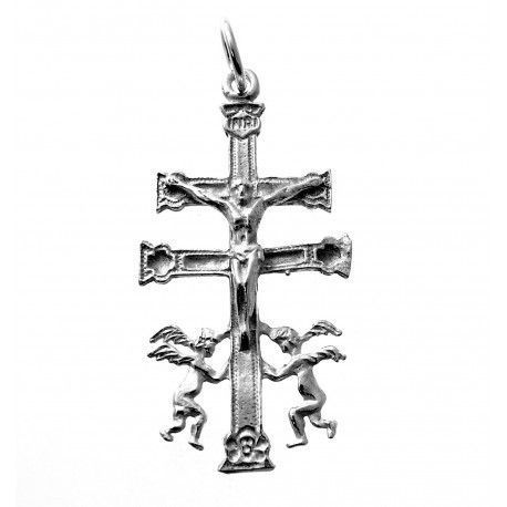 33816-1 Colgante cruz de caravaca grande