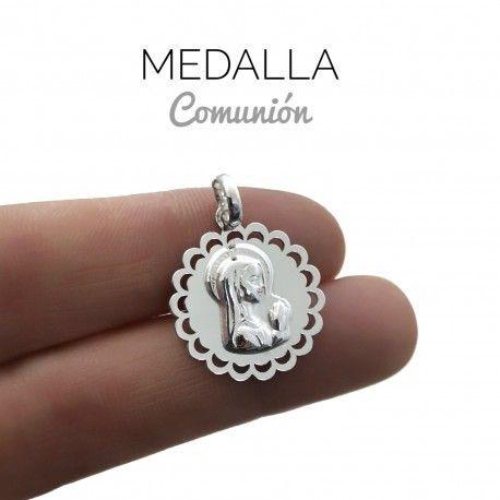 34015 Medalla Virgen Niña