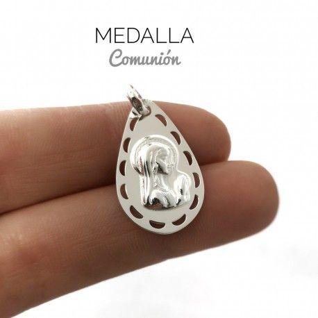 34016 Medalla Virgen Niña