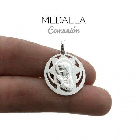34017 Medalla Virgen Niña