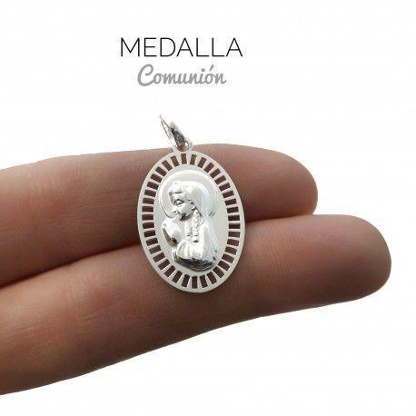 34018 Medalla Virgen Niña