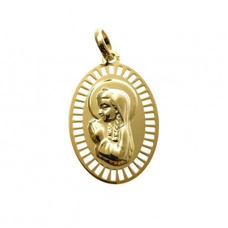 34023.2 Medalla Virgen Niña chapada