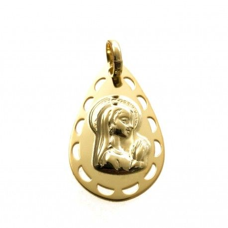 34026.2 Medalla Virgen Niña chapada