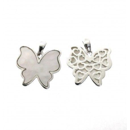 31508.2 Colgante mariposa nacar