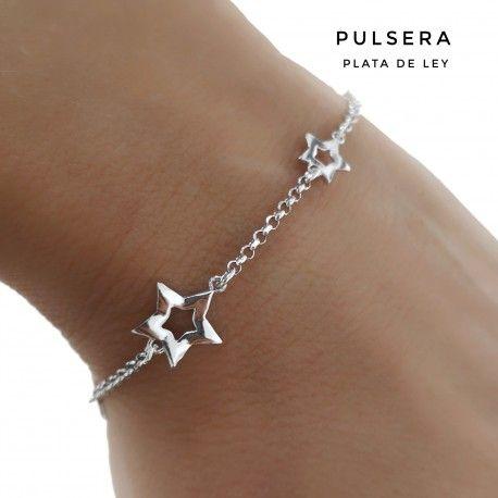 33634 Pulsera rodiada estrellas