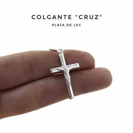 33784 Colgante cruz tubo cristo