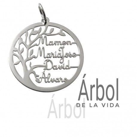 33937 Colgante árbol de la vida nombres personalizados