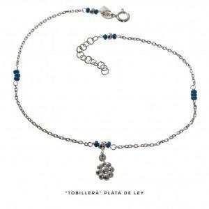 34045-300x300 Tobillera flor piedras turquesas