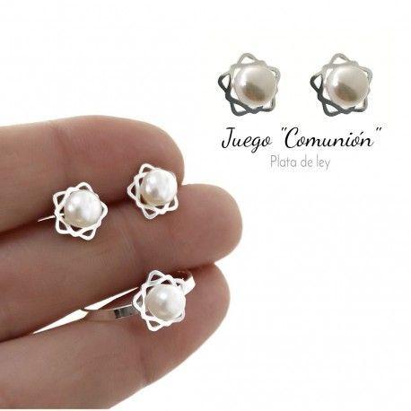 34077 Juego perla estrella comunión