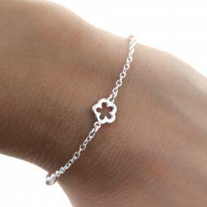 34102-300x300 Pulsera infantil perlas flor
