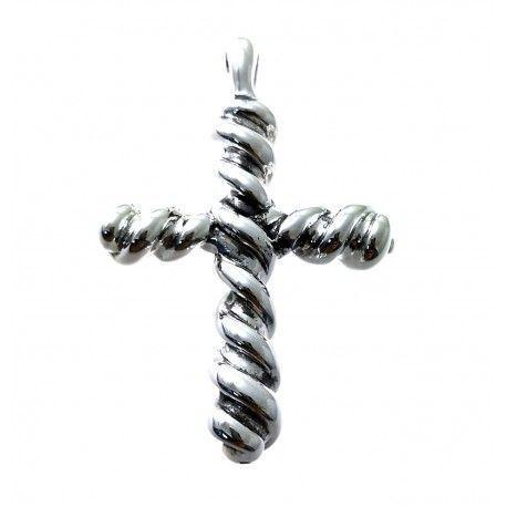 31560 Colgante cruz electroforming