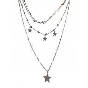 33409-300x300 Gargantilla doble rodiada estrellas