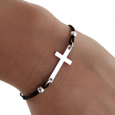34029 Pulsera hilo cruz
