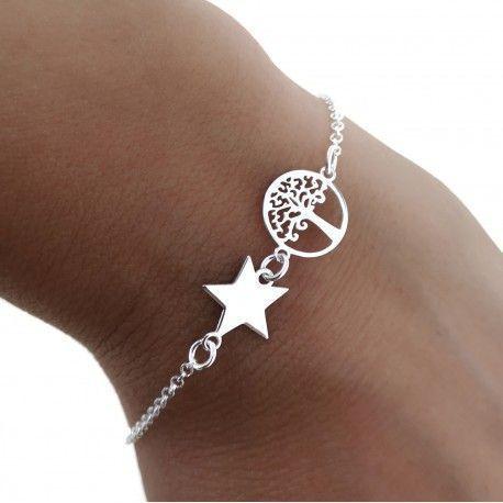 34170 Pulsera árbol estrella