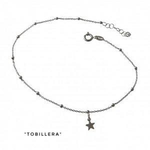 34198-300x300 Tobillera rodiada cadena combinada estrellas