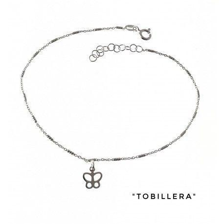 34202 Tobillera mariposa calada