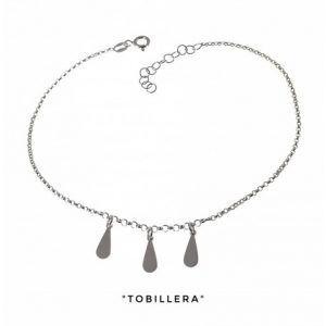 34206-300x300 Tobillera cadena rolo lágrimas colgando