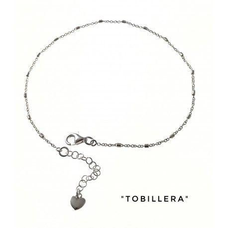 34229 Tobillera cadena corazón